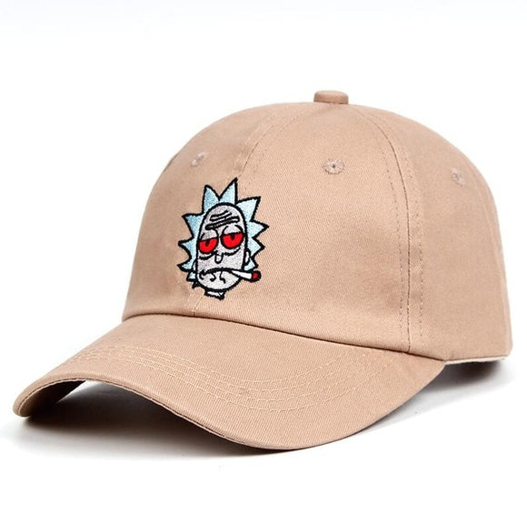 Rick and Morty Rick Smoking Dad Hat