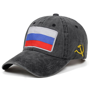 Russian Flag Dad Hat