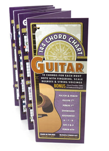 144 Chord Chart for Guitar