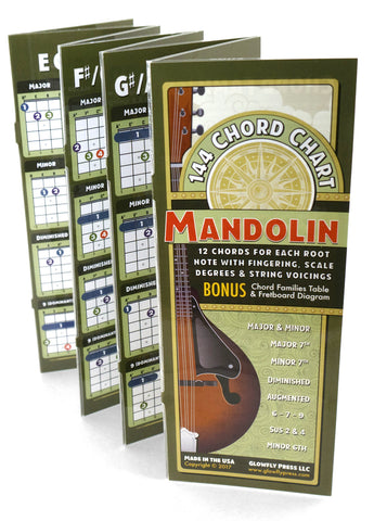 144 Chord Chart for Mandolin