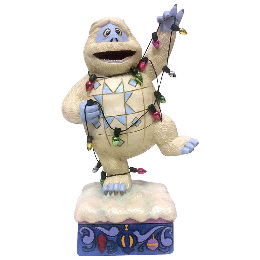 A Bumble figurine from the Rudolph Traditions line by Jim Shore.
