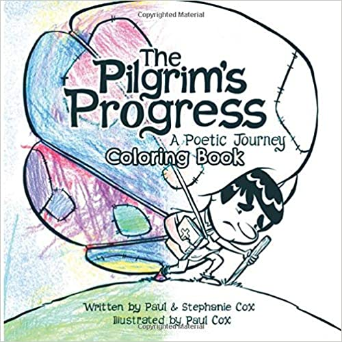 The Pilgrim's Progress: A Poetic Journey Coloring Book