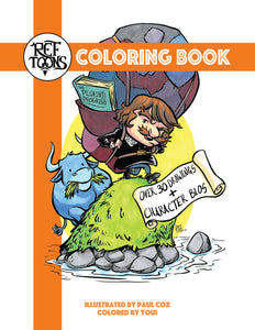 RefToons Coloring Book