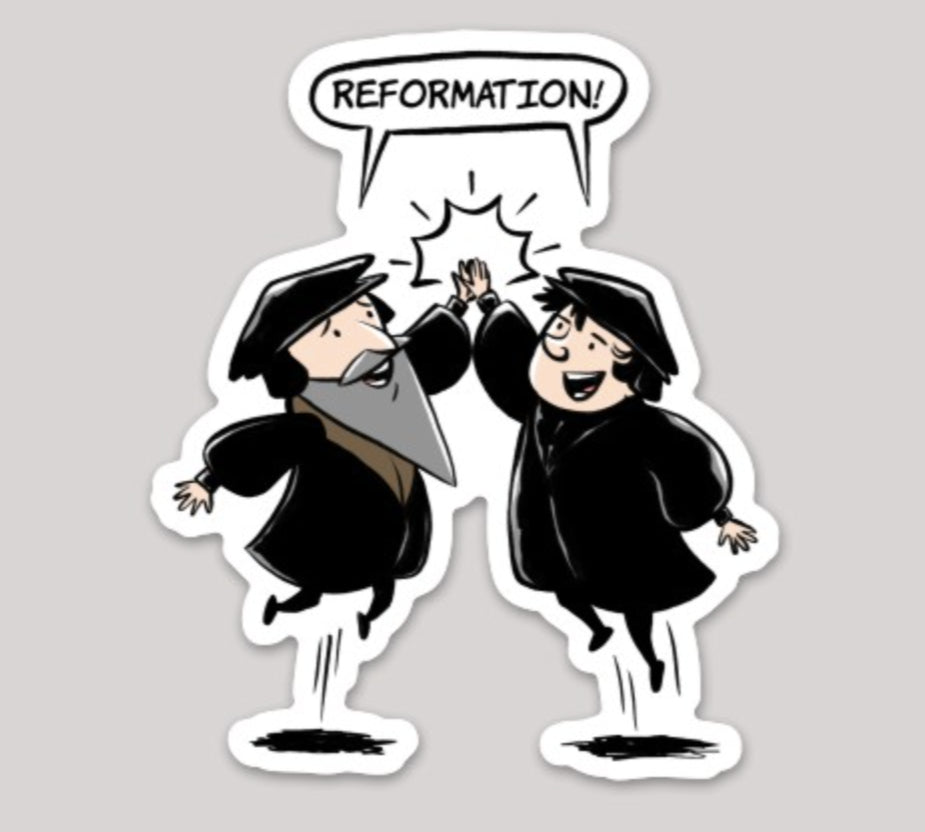 Reformation High-Five Decal