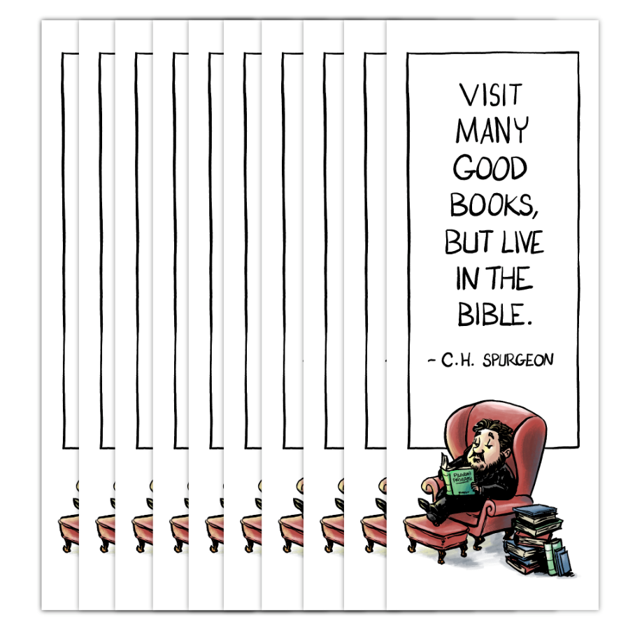 Spurgeon Bookmark  (10-Pack)