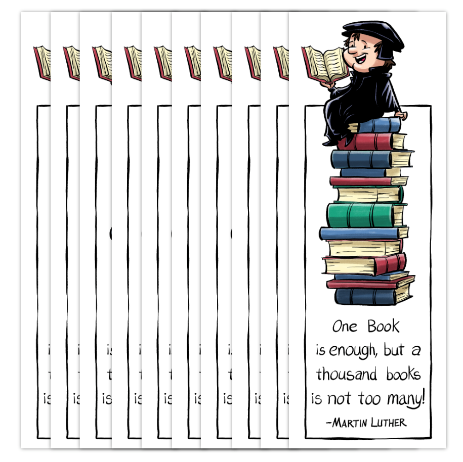 Luther Bookmark  (10-Pack)