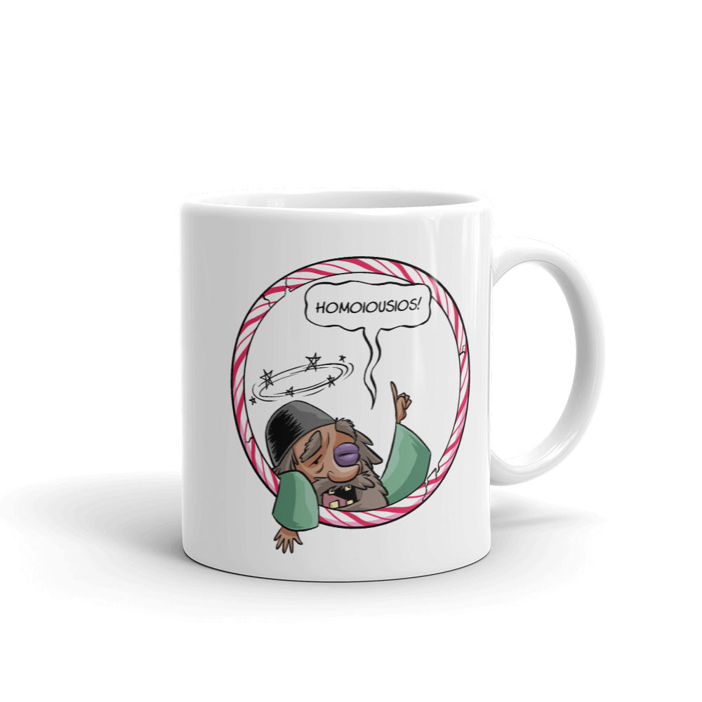 St. Nick and Arius Coffee Mug