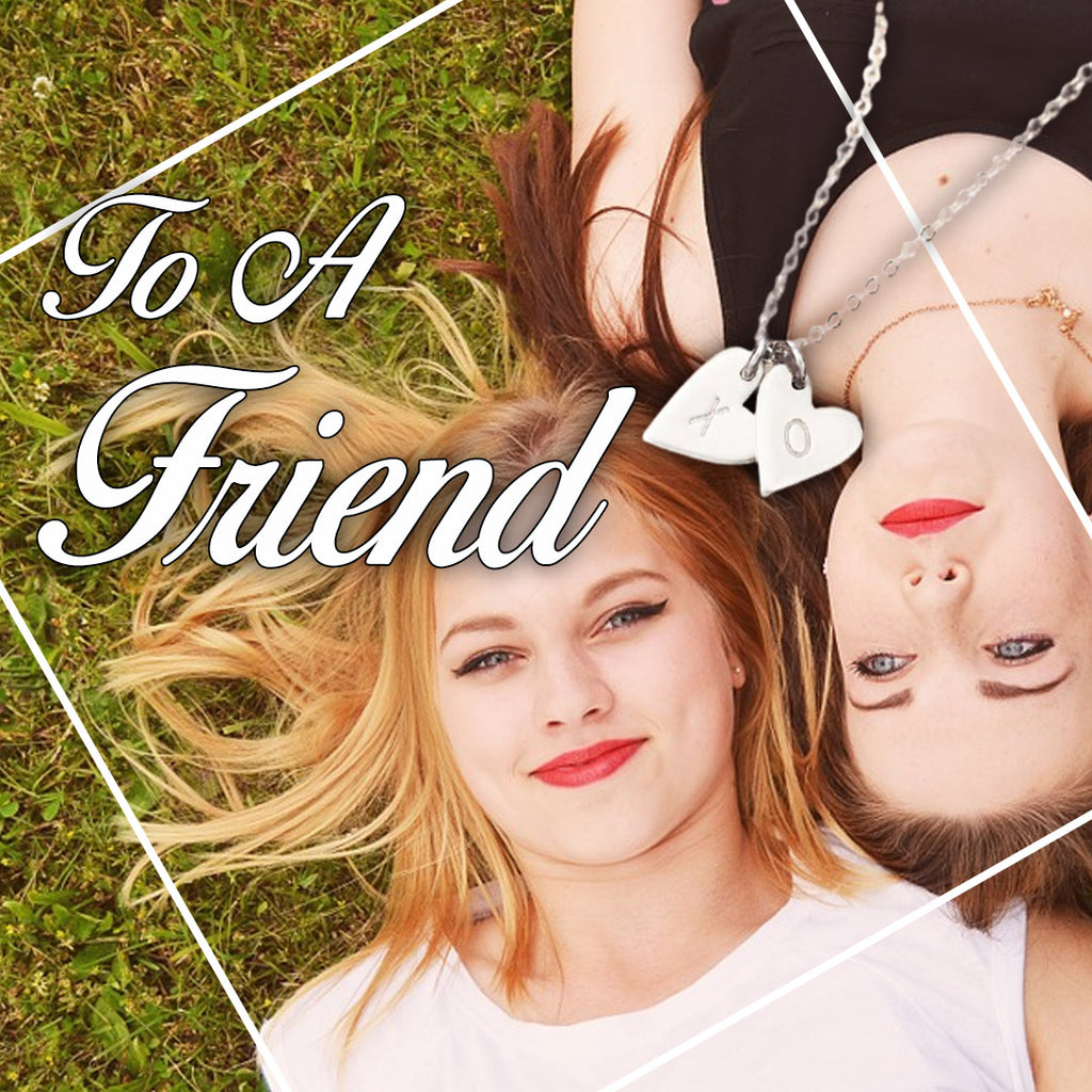 To A Best Friend - Sweetest Hearts Necklace