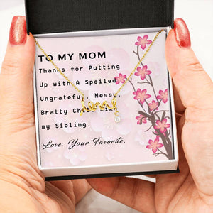 Gift for Mom | Mom Birthday Gift | Love From Your Favorite