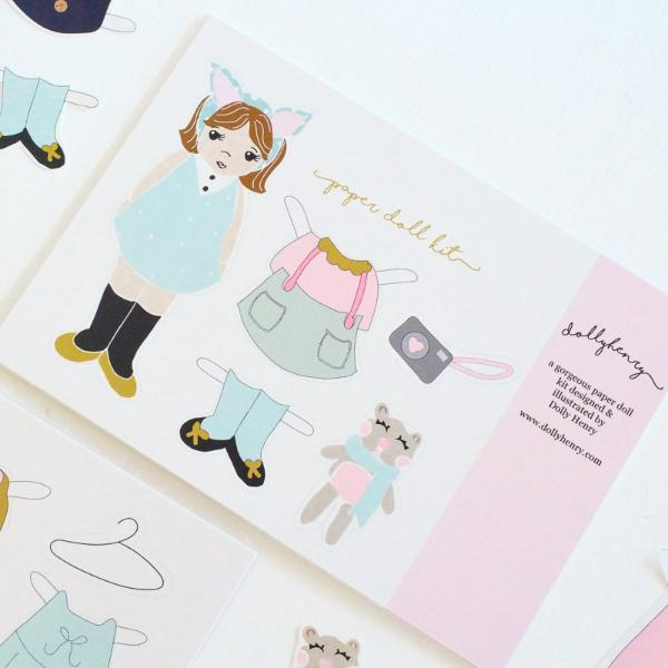 Lucy Paper Doll Set