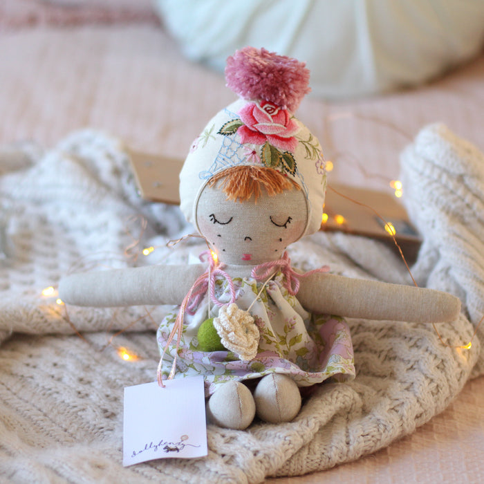 Poppy Bean Handmade Doll