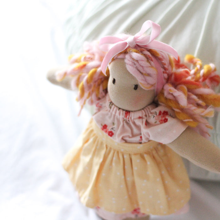 Myrtle - Dolly Henry Mini-Dumpling - Handmade Doll