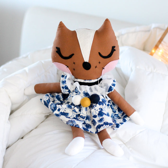 Felicia Fox Handmade Doll