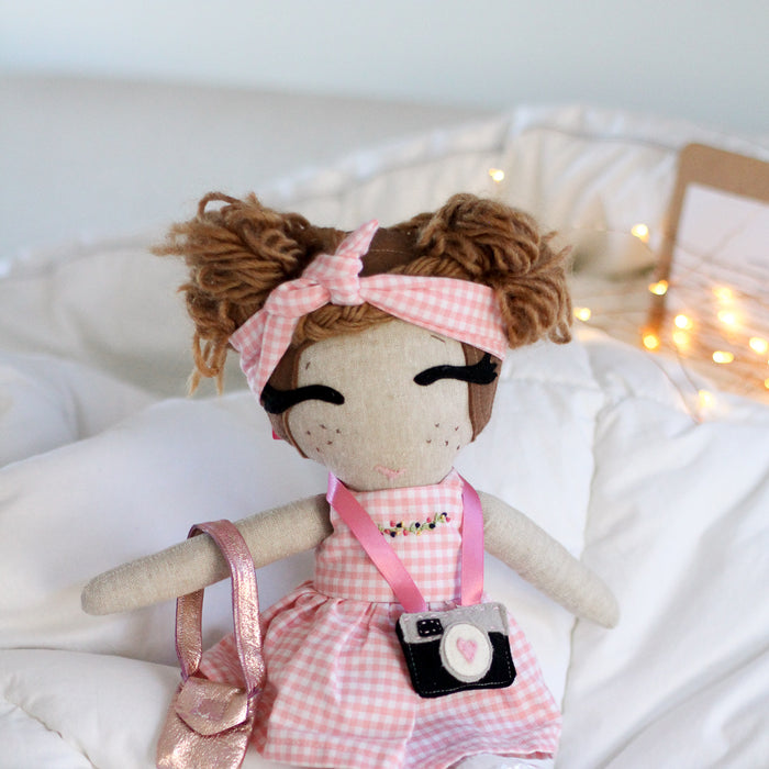 Brandy Handmade Doll