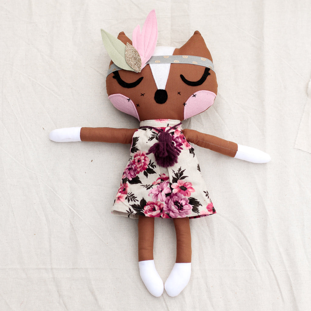 Freckles the Fox Sewing PDF Pattern