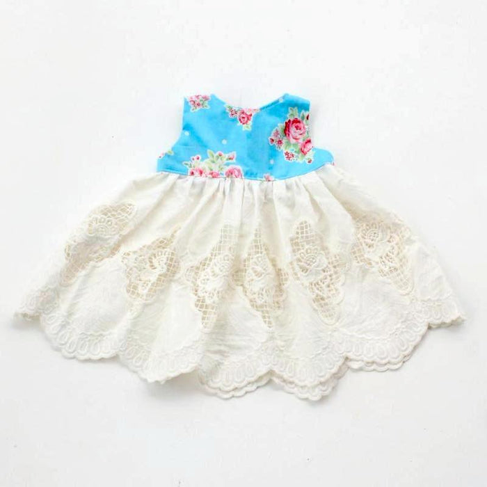 Blossom and Lace Baby Dress Size 000 - 00