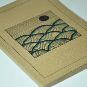 """Ocean Blue"" Notebook"