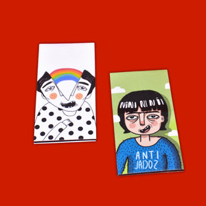 """Happy Thoughts"" Magnetic Bookmarks"