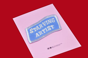 """Starving Artist"" Patch"