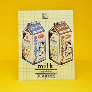 """Milk Duo"" Sticker"