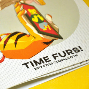"""A Moment of Paws: Time Furs!"" Comics"