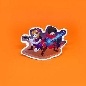 """Battlemate"" Sticker"
