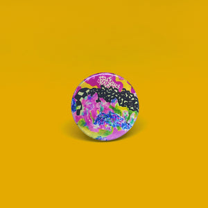 Pmella Button Pin # 6