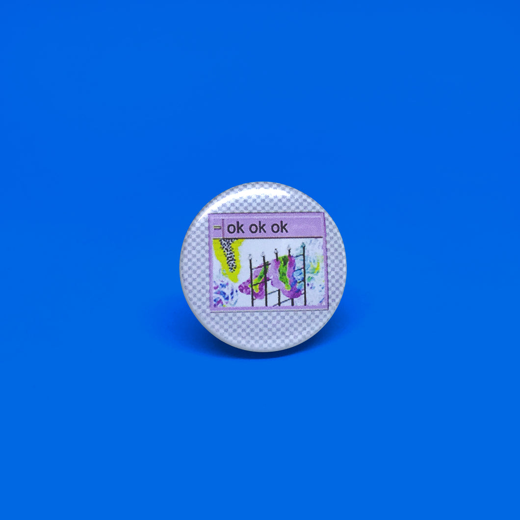 Pmella Button Pin # 7