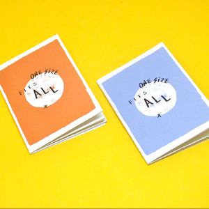 """One Size Fits All"" Zine"