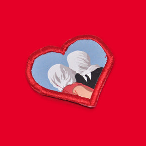 """René Magritte's Lovers II"" Patch"