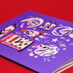 """Moon Rabbits"" Notebook"