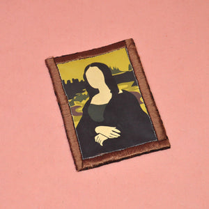 """Leonardo da Vinci's Mona Lisa"" Patch"