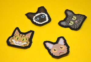 """Pixel Cats"" Patches"