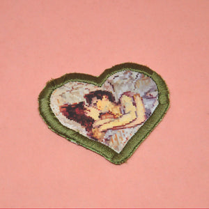 """Henri de Toulouse-Lautrec's In Bed: The Kiss"" Patch"