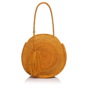 Summers Beach Bag - Toasted Straw