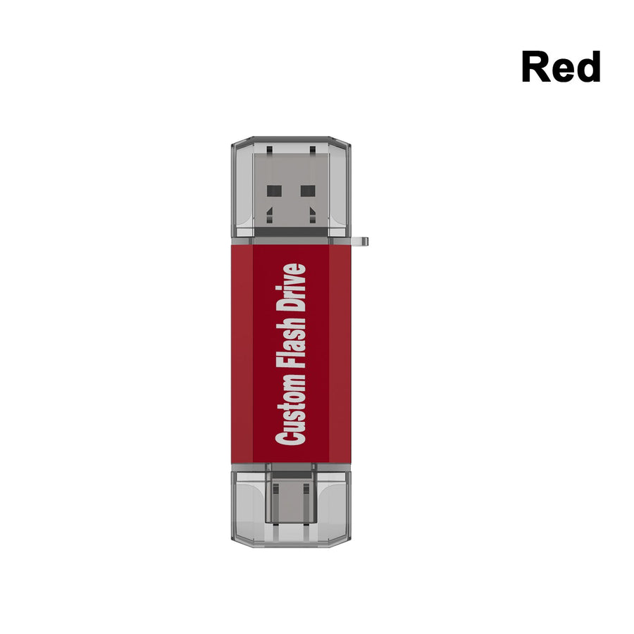 Type-C USB Drive-Red-Topesel