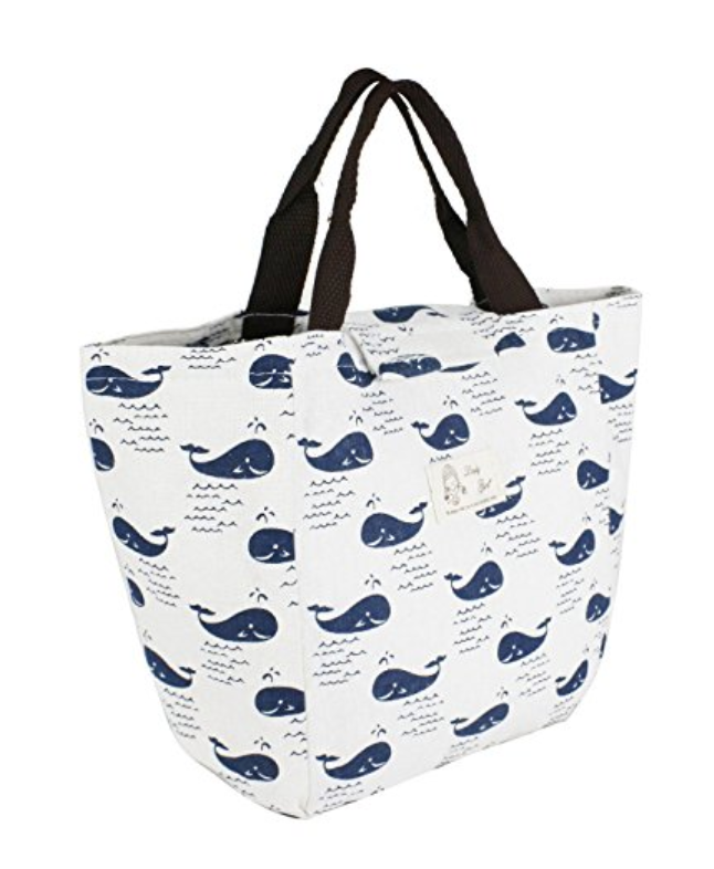 Designer Whale Lunch Bag