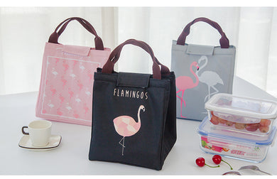 Waterproof Cute Animal Flamingo Lunch Bag