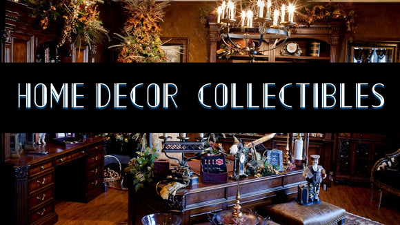 Home and office decor and collectibles
