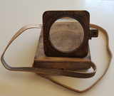 Solid Brass Kelvin handle Magnifier with Leather Pouch