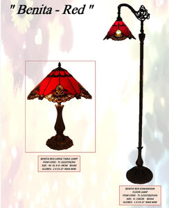 BENITA RED 2 - LEADLIGHT LAMPS