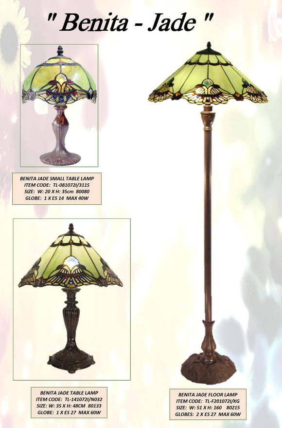 BENITA JADE - LEADLIGHT LAMPS