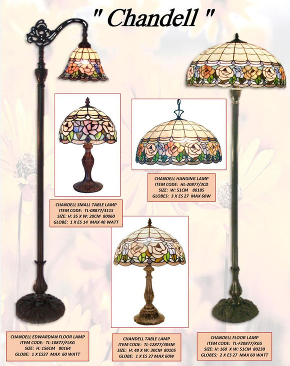 CHANDELL LEADLIGHT LAMPS