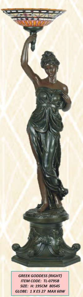 LARGE ART DECO - GREEK GODDESS (R) #special transport needed
