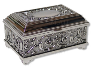 JEWELLERY BOX-HEIRLOOM-FLORAL