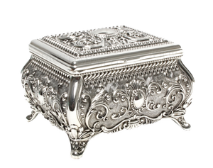 JEWELLERY BOX-ORNATE (15CM)