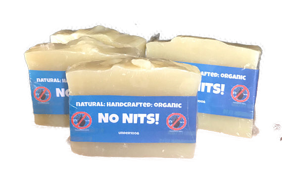 No Nits, Handmade, Natural & Organic Shampoo Soap Bar