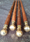 Solid Timber and Brass Swagger Stick (morning stick)