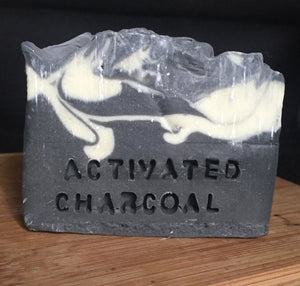 Handmade Activated Charcoal Soap, Natural, Organic