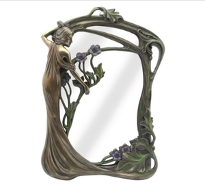 TABLE / WALL MIRROR - LADY STANDING